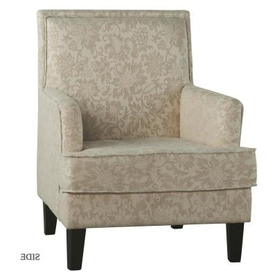 Newest Filton Barrel Chairs Inside Floral – Arm Chair – Accent Chairs – Chairs – The Home Depot (View 9 of 30)