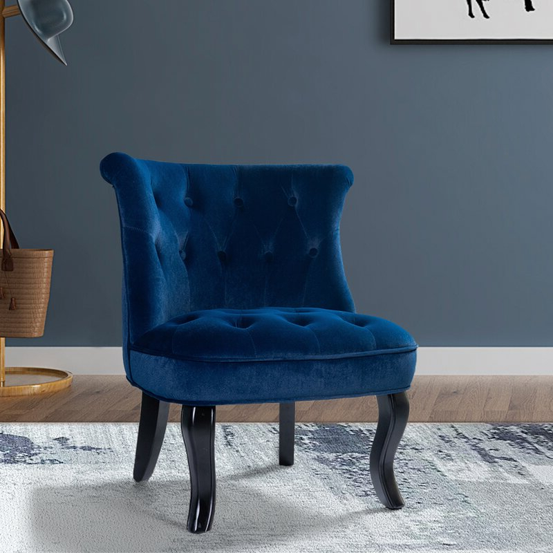 Newest Maubara Tufted Wingback Chairs Regarding Maubara (View 2 of 30)