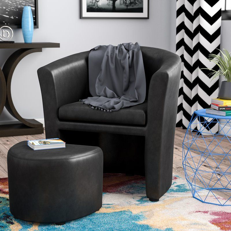 Newest Park Slope Barrel Chair And Ottoman (View 18 of 30)