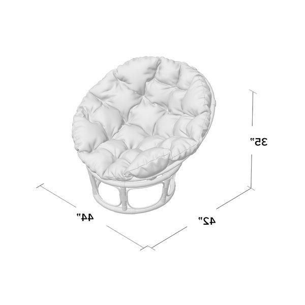 """Orndorff 44"""" Tufted Papasan Chair Throughout Newest Orndorff Tufted Papasan Chairs (View 3 of 30)"""