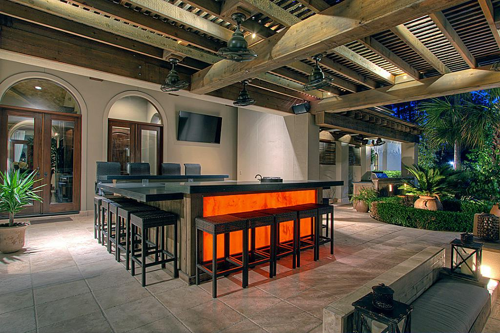 Outdoor Home Renovations With The Highest Return On Investment Within Current Coomer Faux Leather Barrel Chairs (View 20 of 30)