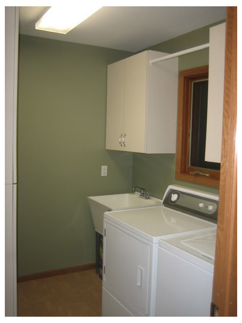 Painted Laundry Room Bm Louisburg Green In Well Liked Louisburg Armchairs (View 21 of 30)