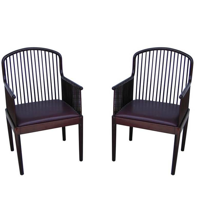Pair Of Mid Century Stendig Knoll Exeter Andover Davis Allen Arm Chairs With Regard To Most Recently Released Exeter Side Chairs (View 20 of 30)