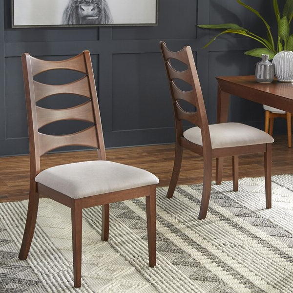 Park Ave Dining Chair With Most Recent Madison Avenue Tufted Cotton Upholstered Dining Chairs (set Of 2) (View 29 of 30)