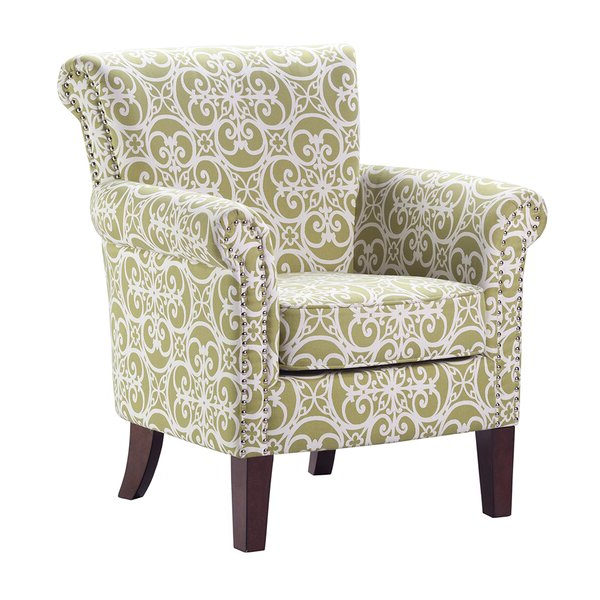Patterned Armchair Regarding Famous Bethine Polyester Armchairs (set Of 2) (View 5 of 30)