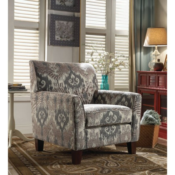 Patterned Chair Pertaining To Popular Bethine Polyester Armchairs (set Of 2) (View 12 of 30)