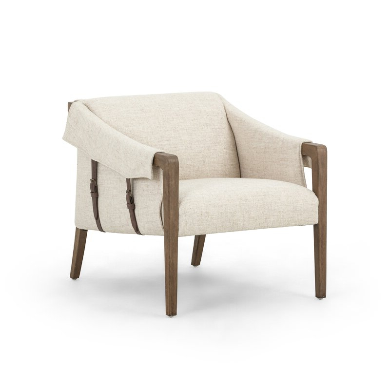 """Polyester Blend Armchairs In Widely Used 27"""" W Polyester Blend Armchair (View 5 of 30)"""