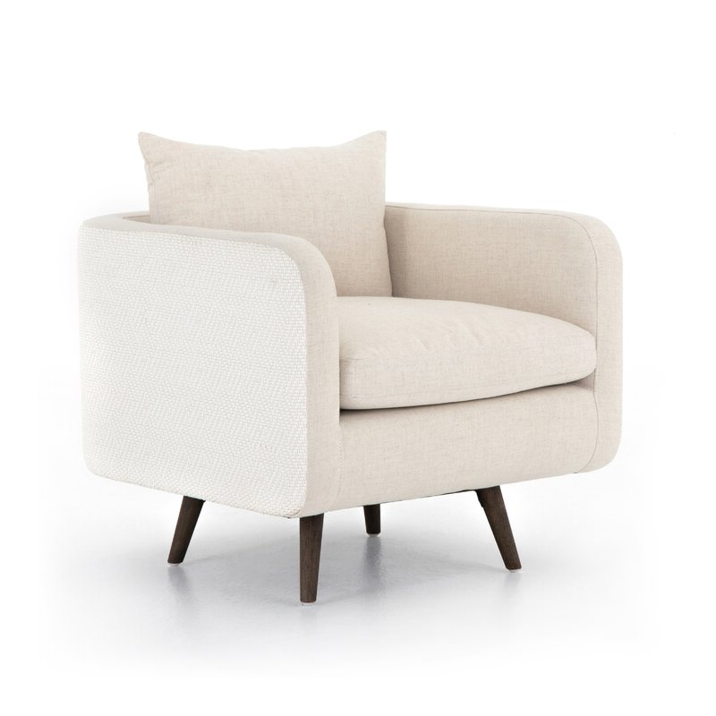 Polyester Blend Armchairs Within Well Liked (View 4 of 30)