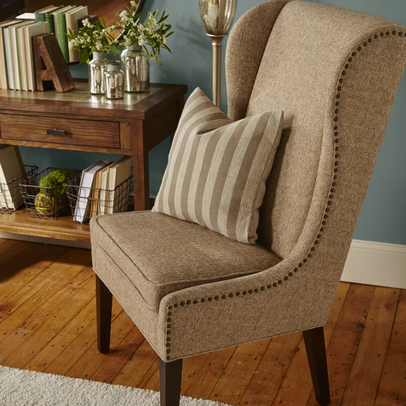 Popular Andover Wingback Chairs Intended For Andover Wingback Chair In (View 8 of 30)
