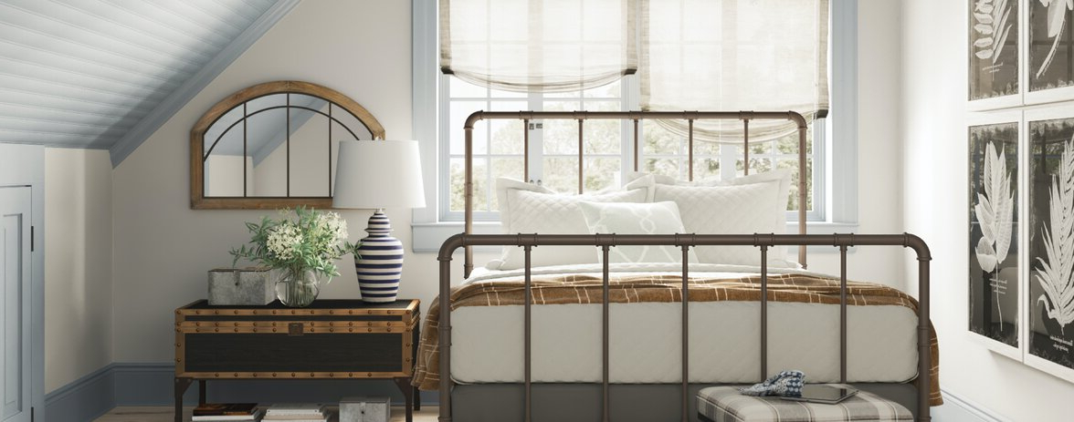 Popular Farmhouse & Rustic Bedroom (View 17 of 30)