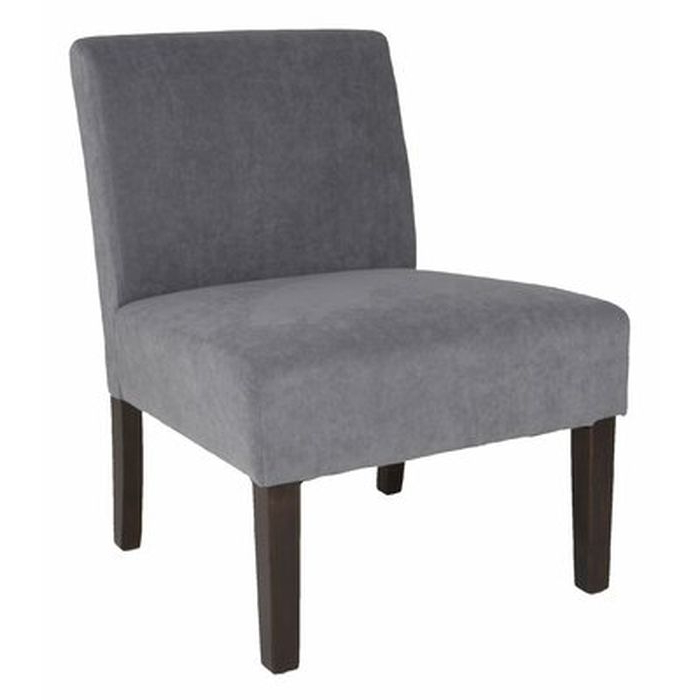 Popular Harland Modern Armless Slipper Chairs Inside Harland Modern Armless Slipper Chair – Wayfair (View 3 of 30)