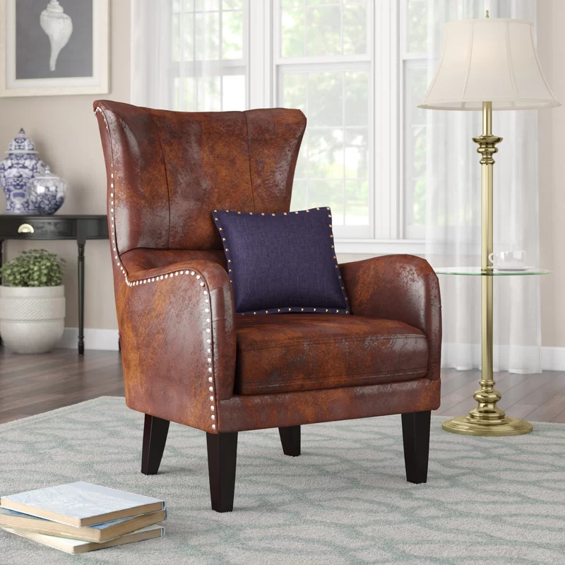 Popular Ilminster Wingback Chair Intended For Andover Wingback Chairs (View 26 of 30)