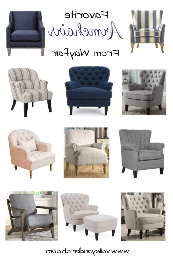 Popular Jayde Armchairs With Regard To Favourite Armchairs From Wayfair – Valley + Birch (View 20 of 30)