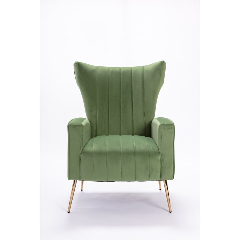 Popular Nestor Wingback Chairs Pertaining To Nestor Wingback Chair (View 4 of 30)