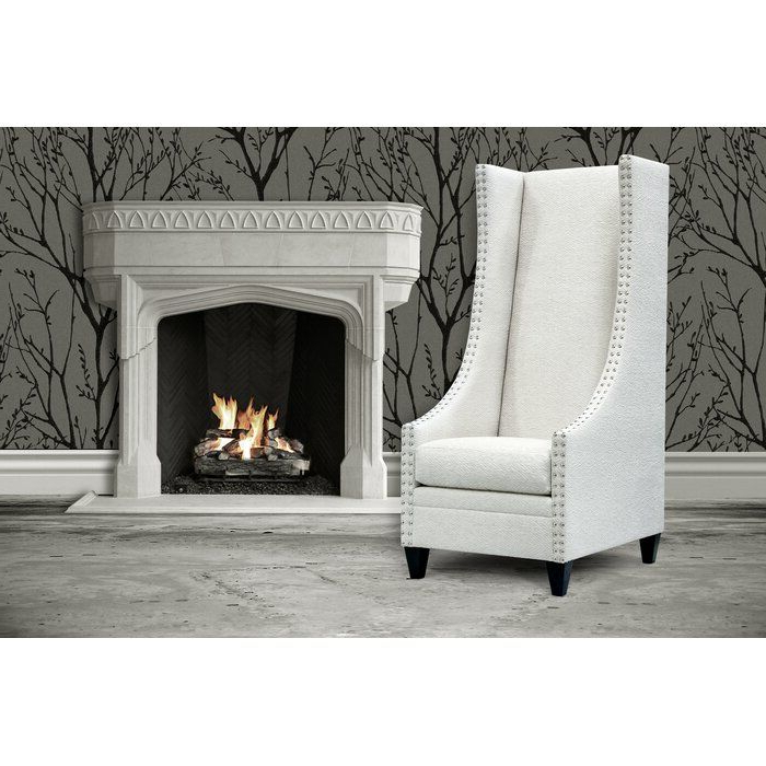 Popular Saige Wingback Chair (View 9 of 30)