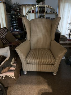 Popular Waterton Wingback Chairs Intended For New And Used Wingback Chair For Sale In Daytona Beach, Fl (View 12 of 30)