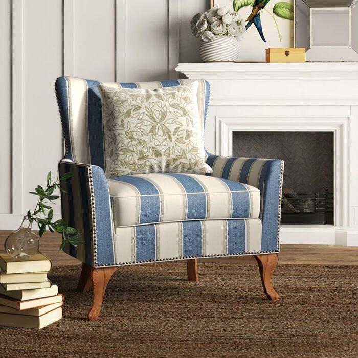 Popular Young Armchairs By Birch Lane Regarding Birch Lane™ Heritage Zubair Wingback Armchair & Reviews (View 15 of 30)