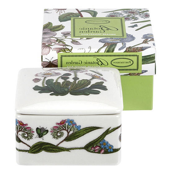 Portmeirion Botanic Garden Square Trinket Box For Popular Portmeirion Armchairs (View 13 of 30)