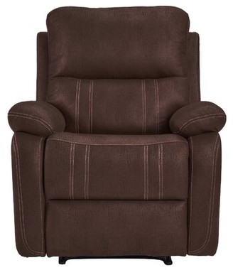Preferred Coomer Faux Leather Barrel Chairs Intended For Brown Leather Accent Chair (View 21 of 30)