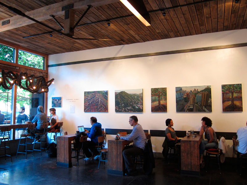 Preferred Jungle, Concrete – Four Barrel In Lau Barrel Chairs (View 8 of 30)
