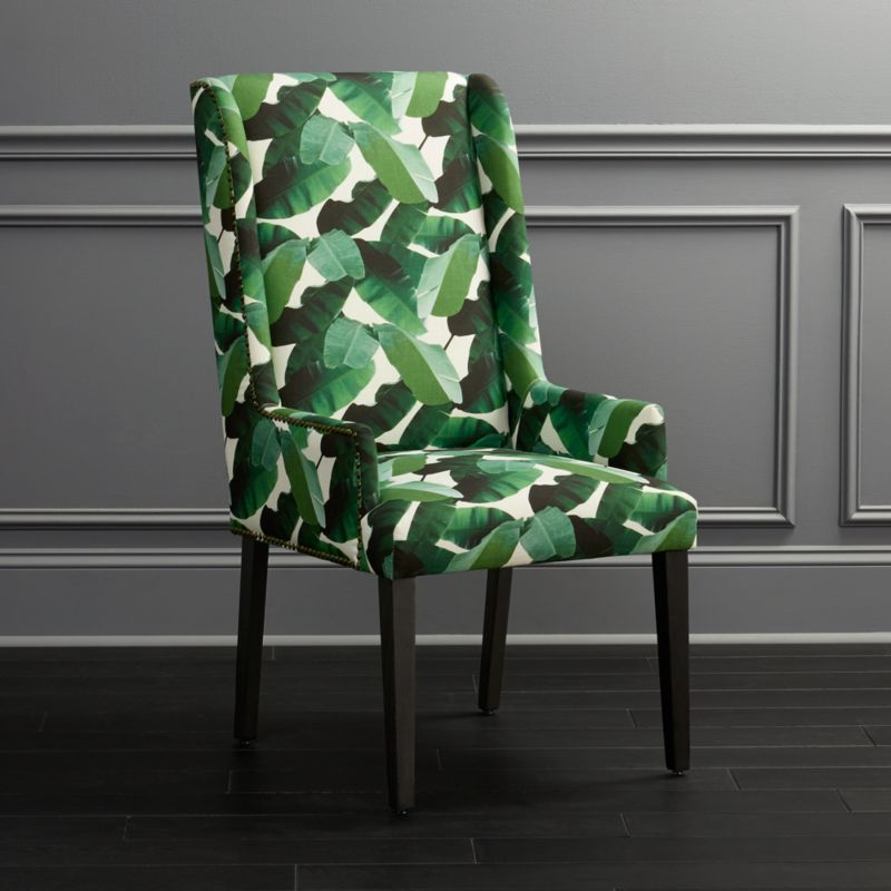 Preferred Reynolds Armchairs In Armchair With Tropical Print (View 12 of 30)