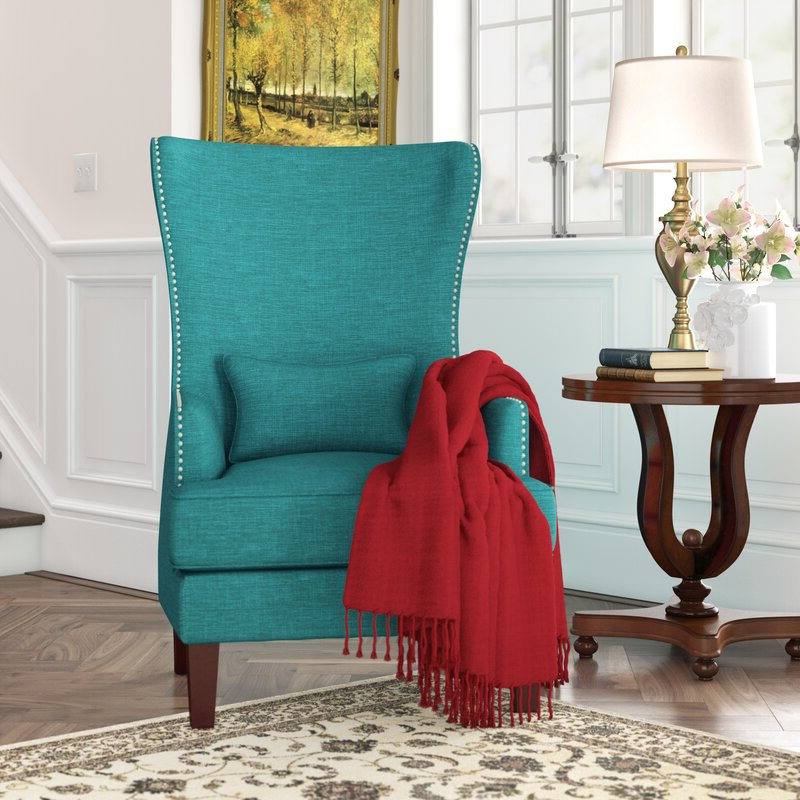 Pringle Wingback Chair With Regard To Fashionable Andover Wingback Chairs (View 21 of 30)