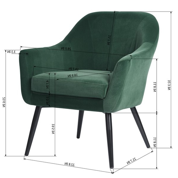 Raiford Armchair With Regard To Latest Altamahaw Swoop Side Chairs (View 7 of 30)