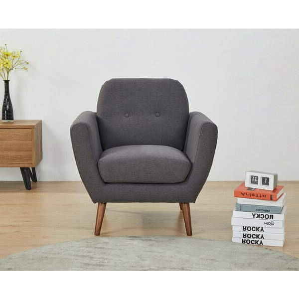 Rasmussen Armchair Intended For Best And Newest Hanner Polyester Armchairs (View 26 of 30)