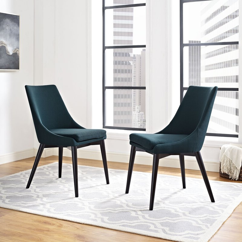 Recent Carlton Wood Leg Upholstered Dining Chair Pertaining To Carlton Wood Leg Upholstered Dining Chairs (View 3 of 30)