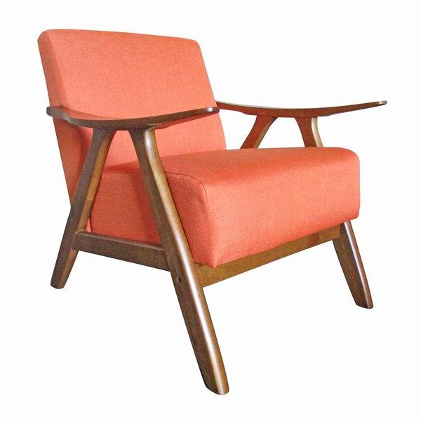 Recent Hofstetter Armchairs Inside Burnt Orange Armchair (View 13 of 30)