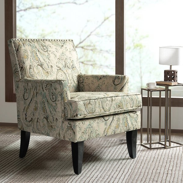 Recent Robin Track Arm Club Chair For Bethine Polyester Armchairs (set Of 2) (View 15 of 30)