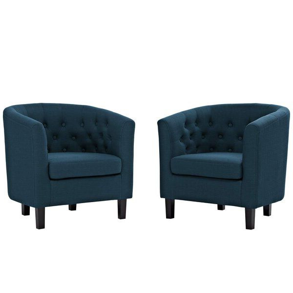 "Recent Ziaa Armchairs (set Of 2) Intended For Ziaa 21"" Armchair In (View 2 of 30)"