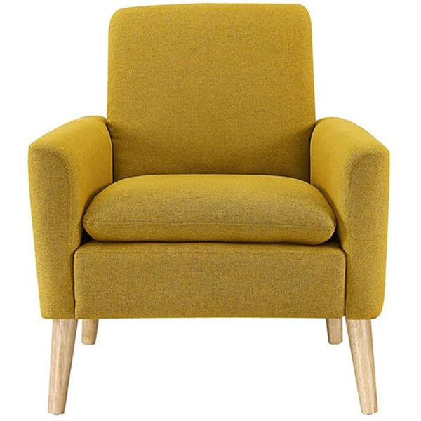 """Ronald Polyester Blend Armchairs For Well Known Biggerstaff 30"""" W Polyester Blend Armchair (View 12 of 30)"""