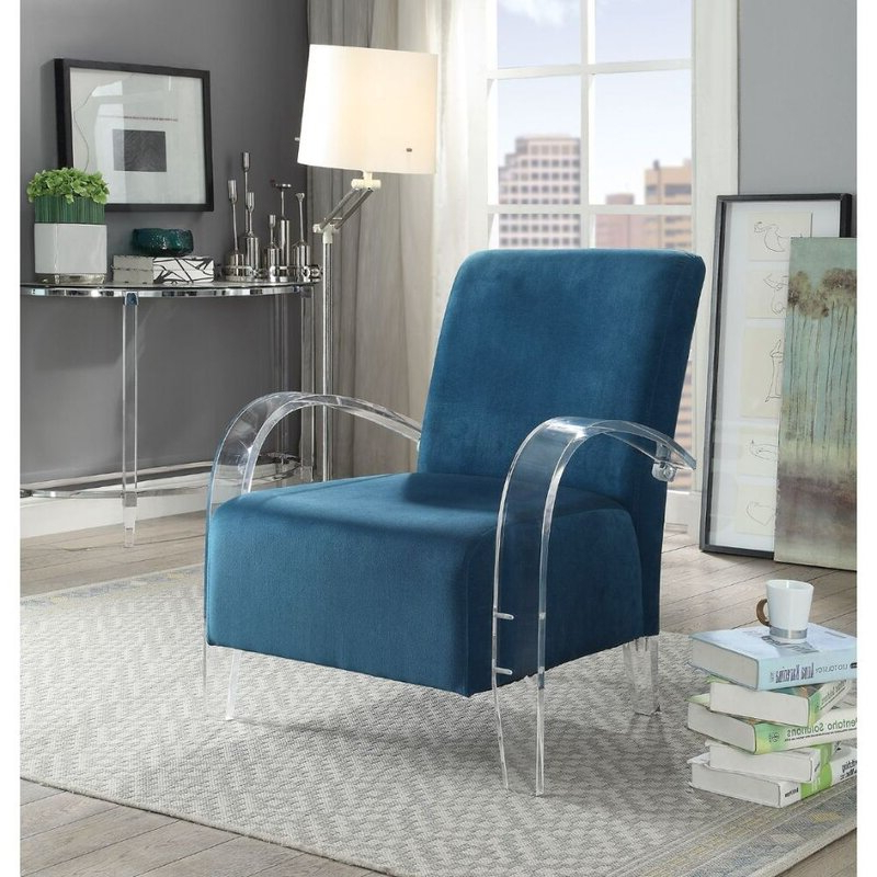 """Ronald Polyester Blend Armchairs Throughout Well Known Siebert 31"""" W Polyester Blend Armchair (View 24 of 30)"""