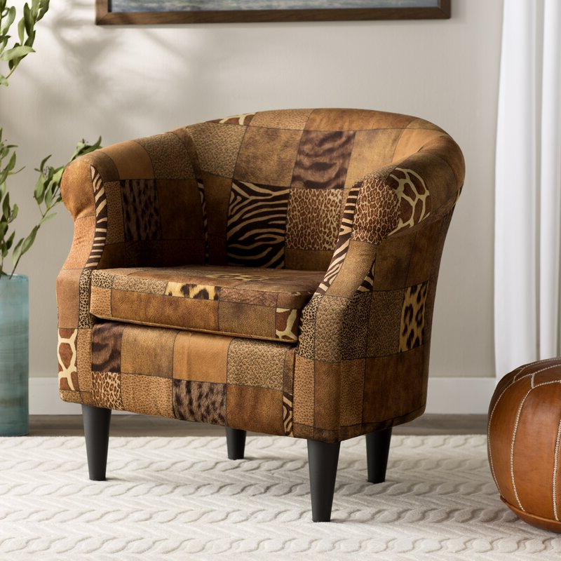 Ronda Barrel Chairs In Well Liked Ronda Barrel Chair (View 3 of 30)