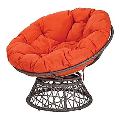 Rosati Mongolian Fur Papasan Chairs Throughout Best And Newest Amazon: Papasan Chair (View 26 of 30)