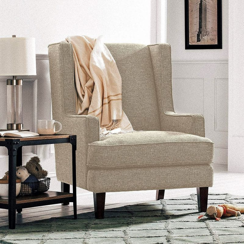 Saige Wingback Chairs For Well Liked 21 Top Wingback Chair List (View 14 of 30)