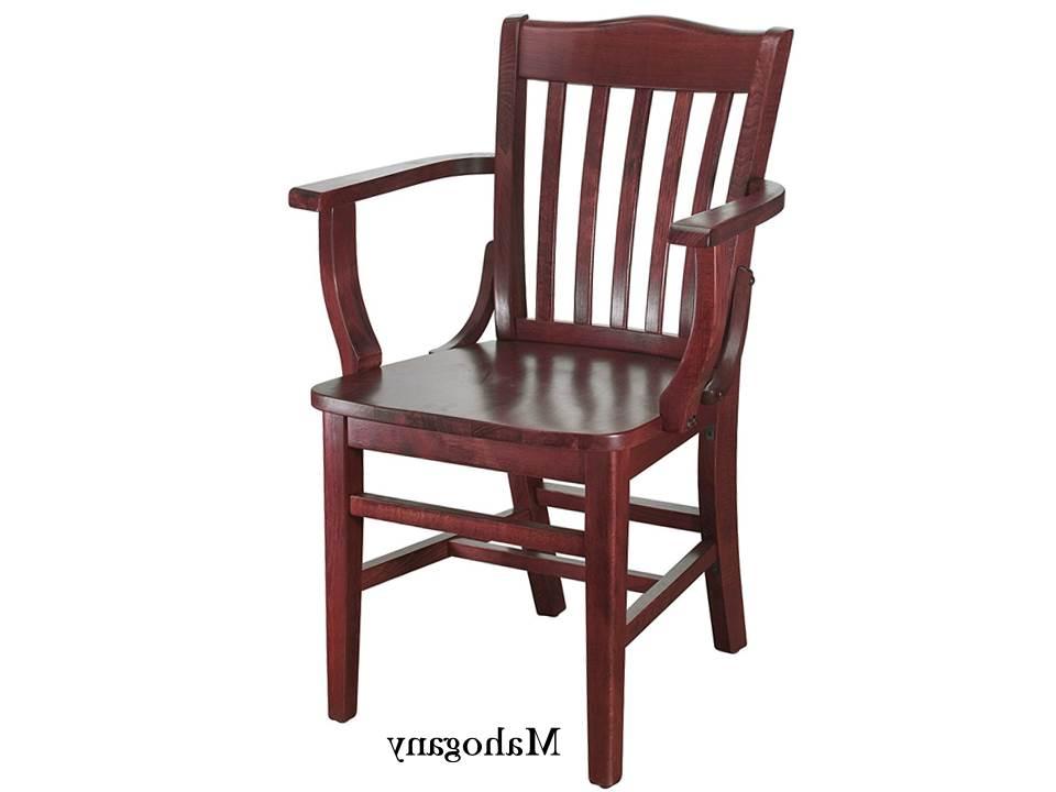 Schoolhouse Arm Chairs Regarding Popular Beachwood Arm Chairs (View 28 of 30)