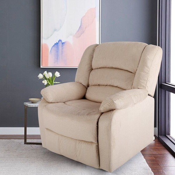 Small Wall Away Recliner With Regard To Most Popular Artressia Barrel Chairs (View 29 of 30)