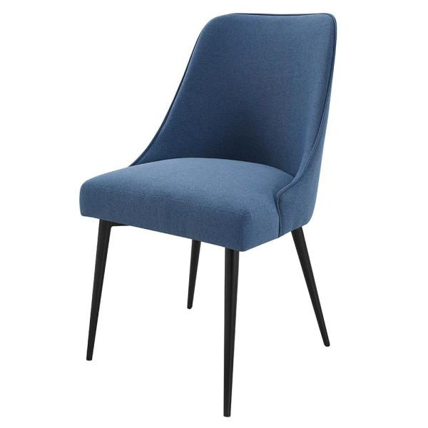 Steve Silver Colfax Blue Side Chair (set Of 2) Cf450sn – The Within Most Popular Esmund Side Chairs (set Of 2) (View 10 of 30)
