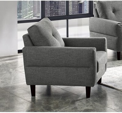 Suffolk Fabric Armchair Within Best And Newest Armory Fabric Armchairs (View 5 of 30)