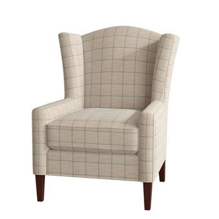 Sweetwater Wingback Chairs Inside Trendy Bickerstaff Wingback Chair – Birch Lane (View 2 of 30)