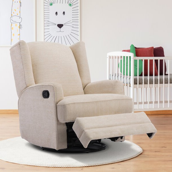 Swivel Chair Recliners For Well Known Coomer Faux Leather Barrel Chairs (View 15 of 30)