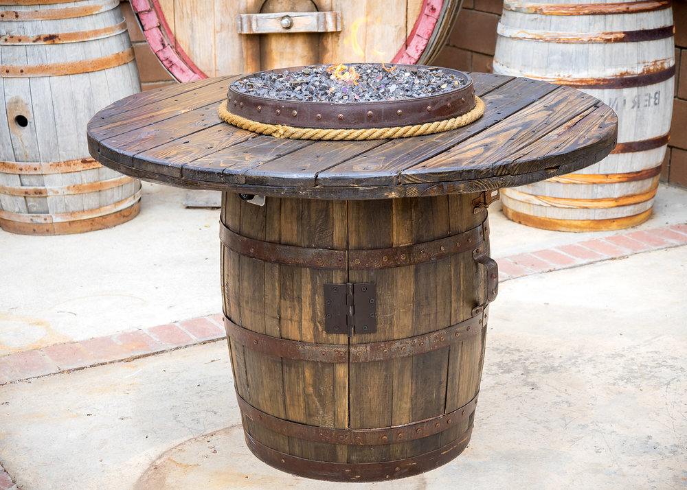 Take Home A Piece Of Wine Country With King Barrel Of Old Within Popular Briseno Barrel Chairs (View 26 of 30)