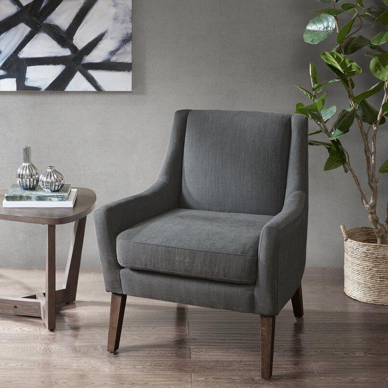 """Terrell 30"""" W Polyester Blend Armchair Regarding Most Recent Polyester Blend Armchairs (View 11 of 30)"""