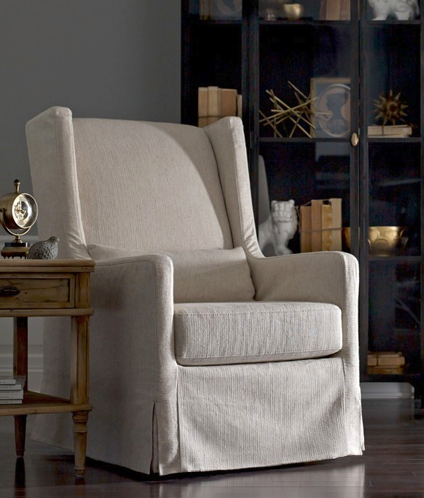 Top 7 Beige Wingback Chairs For Elegant Living Room – Cute Intended For Popular Andover Wingback Chairs (View 22 of 30)