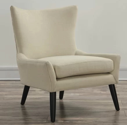 Top 7 Beige Wingback Chairs For Elegant Living Room – Cute Within Newest Andover Wingback Chairs (View 30 of 30)