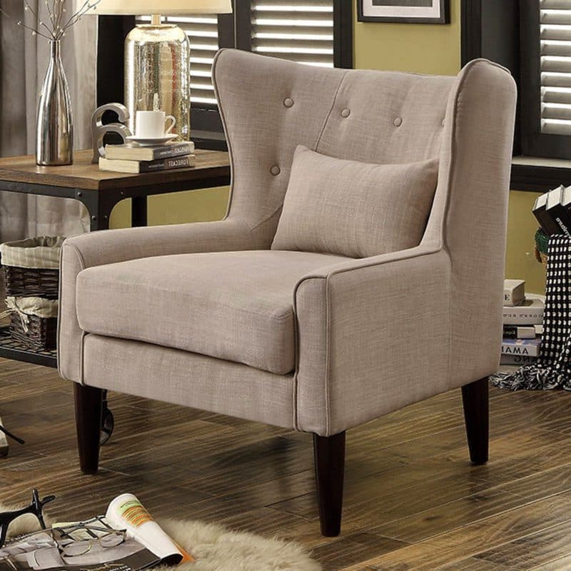 Trendy 21 Top Wingback Chair List (View 10 of 30)