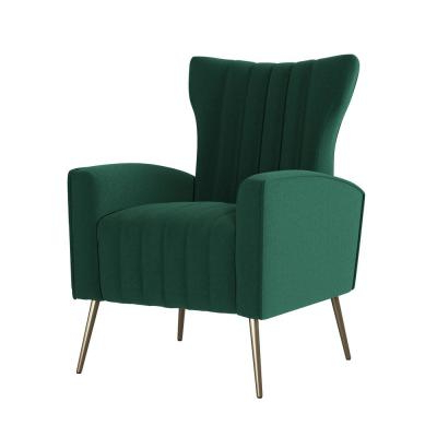 Trendy Dallin Arm Chairs For Tufted – Emerald Green – Accent Chairs – Chairs – The Home Depot (View 14 of 30)