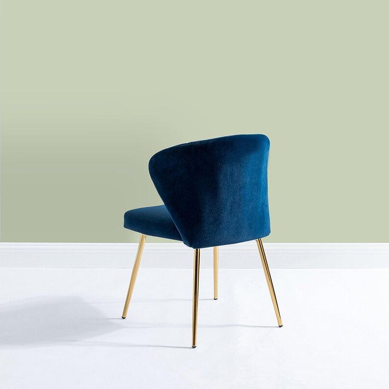 """Trendy Daulton Velvet Side Chairs Within Daulton 20"""" W Velvet Side Chair (View 10 of 30)"""